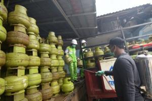 Kebutuhan Gas Elpiji 3 Kilogram di Temanggung Masih Normal
