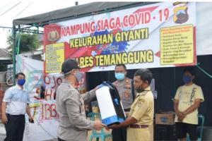 Hadapi Penyebaran Covid-19, Polres Temanggung Bentuk Kampung Siaga