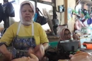 Jelang Ramadhan, Harga Daging Ayam dan Telur di Temanggung Naik