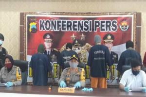 Polisi Temanggung Tangkap Komplotan Pencuri Ternak di Tengah Pandemi