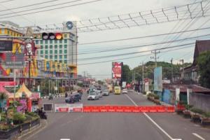 Akses Masuk Kota Magelang Ditutup