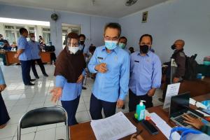Pemkab Bantul Vaksinasi 7.000 Pedagang Pasar Tahun Ini