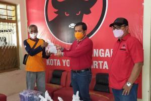 DPC PDI Perjuangan Kota Yogyakarta Kurban 2 Sapi untuk Warga Isoman