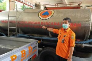 Musim Kemarau, BPBD Kabupaten Magelang Siapkan 90 Tangki Air Bersih