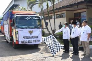 77.784 Warga Kabupaten Wonosobo Terima Bantuan Beras