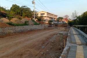 Pembangunan Jalan Sriwijaya Kota Semarang Capai 39 Persen