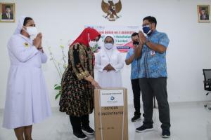 Pemkab Sragen Distribusikan 50 Unit Konsetrator Oksigen ke RS Swasta