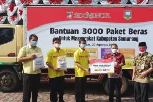 3.000 Warga Kabupaten Semarang Terima Beras dari Sidomuncul