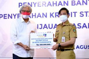 20 Warga Surakarta Terima Dana Sosial Perbaikan RTLH