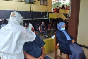 Persiapan PTM, 8.438 Guru di Temanggung Lakukan Swab Antigen