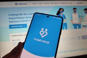 Kominfo Bantah Aplikasi PeduliLindungi Tiru TraceTogether Singapura