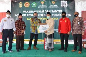 Pemkot Yogyakarta Genjot Vaksinasi Kyai dan Santri