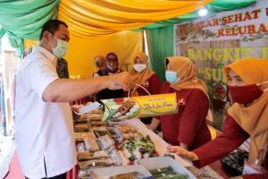 Tingkatkan Ekonomi, Pemkot Semarang Rutin Gelar Pasar Sehat
