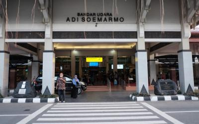 Pengamanan Bandara Adi Soemarmo Ditingkatkan