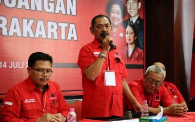 Megawati Kembali Tunjuk Rudy Pimpin PDIP Surakarta