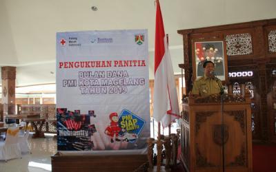 Wali Kota Magelang Sumbang Gaji Agustus untuk PMI