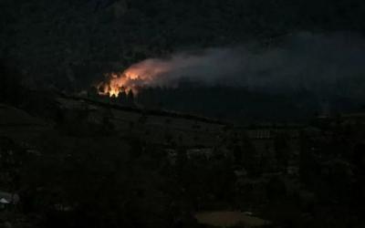 Gunung Slamet Terbakar Lagi
