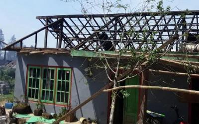 Angin Kencang Terpa Sejumlah Daerah di Jateng