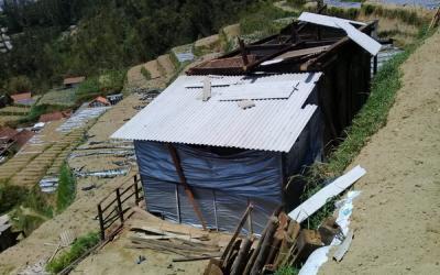 Angin Kencang Rusak 54 Rumah di Kabupaten Magelang