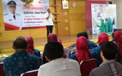 Gubernur Jateng Tegaskan Rumah Sakit Dilarang Menolak Pasien Miskin