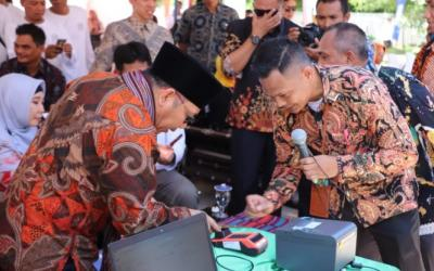 Kementerian Desa PDTT Resmikan Sistem E-Ticketing Menuju Tiga Gili di Lombok