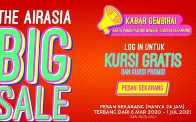 Bangkitkan Gairah Pariwisata Dalam Negeri, AirAsia Sediakan 6 Juta Tiket Promo