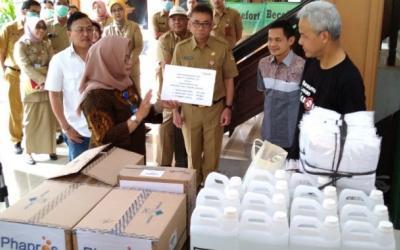 Pemerintah Jawa Tengah Siapkan Bantuan Terhadap Masyarakat Untuk Covid-19