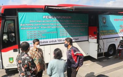 Perluas Herd Immunity, Surakarta Turunkan Bus Keliling untuk Vaksinasi