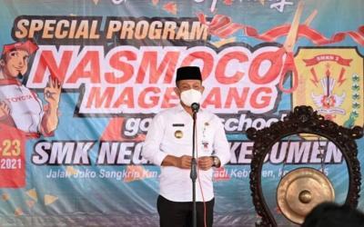 Bupati Dukung Program Nasmoco Goes To School di SMKN 2 Kebumen