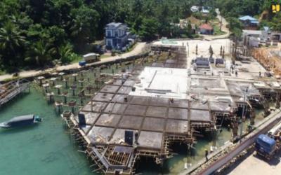 Kementerian PUPR Bangun PLBN Terpadu Serasan di Kepri