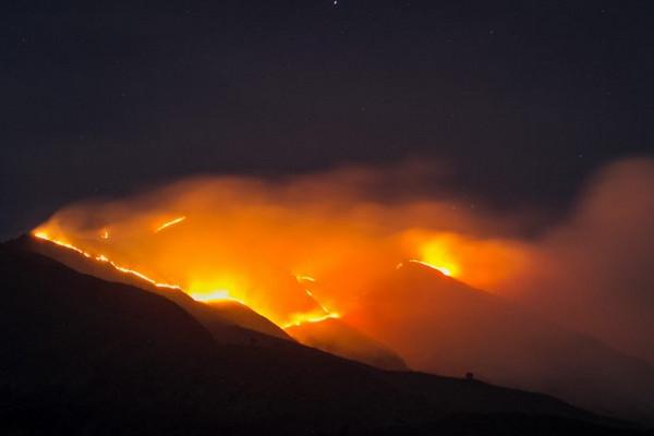 Magelang Berlakukan Status Darurat Kebakaran Hutan Merbabu