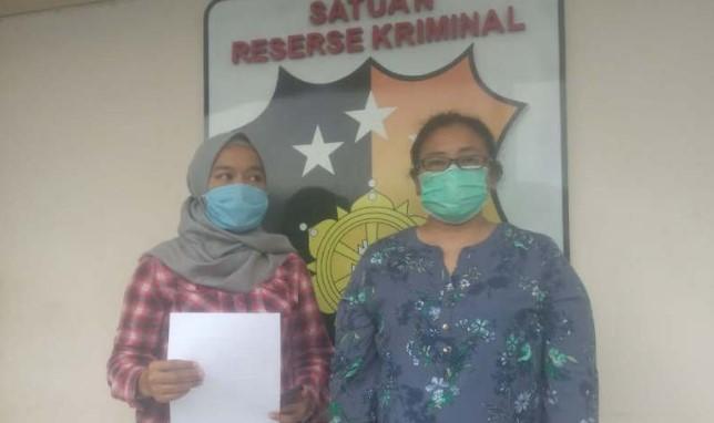 Sebarkan Hoaks Terkait Corona, Seorang  Wanita di Semarang Minta Maaf